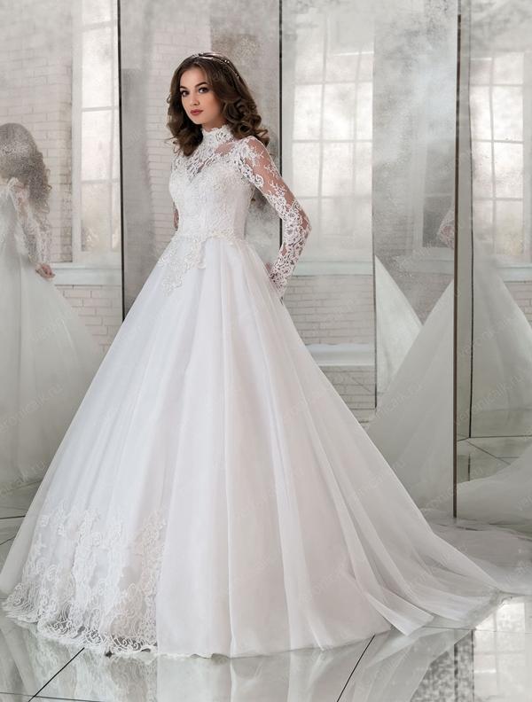 Особенности свадебных платьев с длинным рукавом, лучшие модели и модные образы