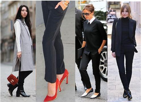 женские брюки с чем носить