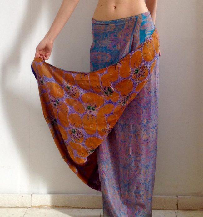 юбка с запахом Индийская