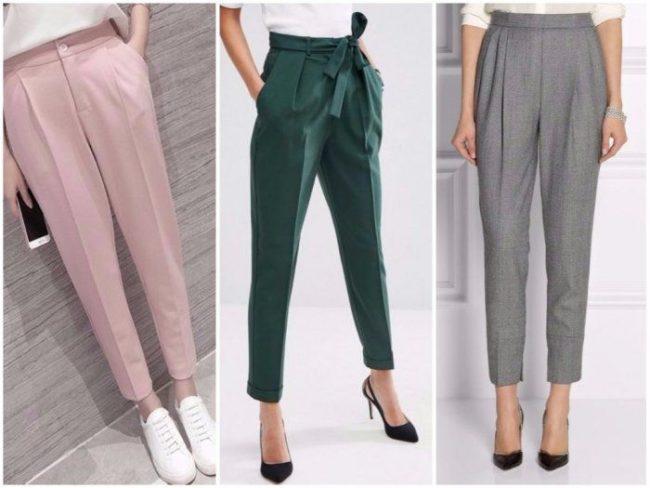 женские брюки Casual