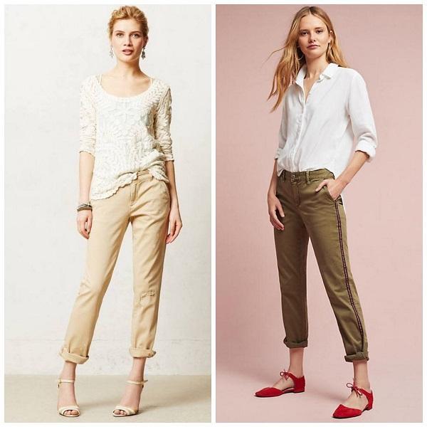 женские брюки Демисезонные