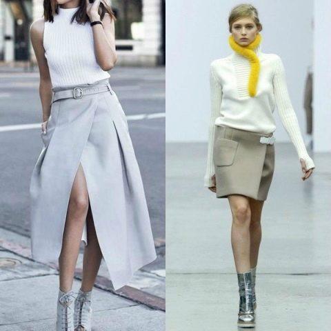 Модные новинки юбок с запахом 2020 года, с чем их носить и какой фасон выбрать