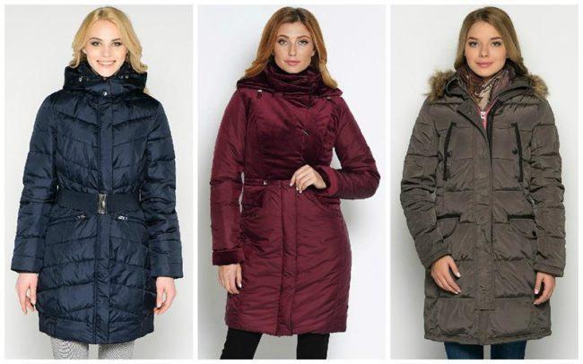 разные куртки
