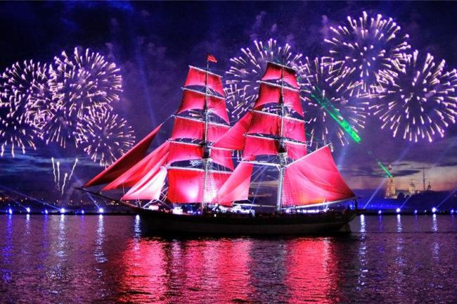 алые паруса в санкт петербурге 2021 год
